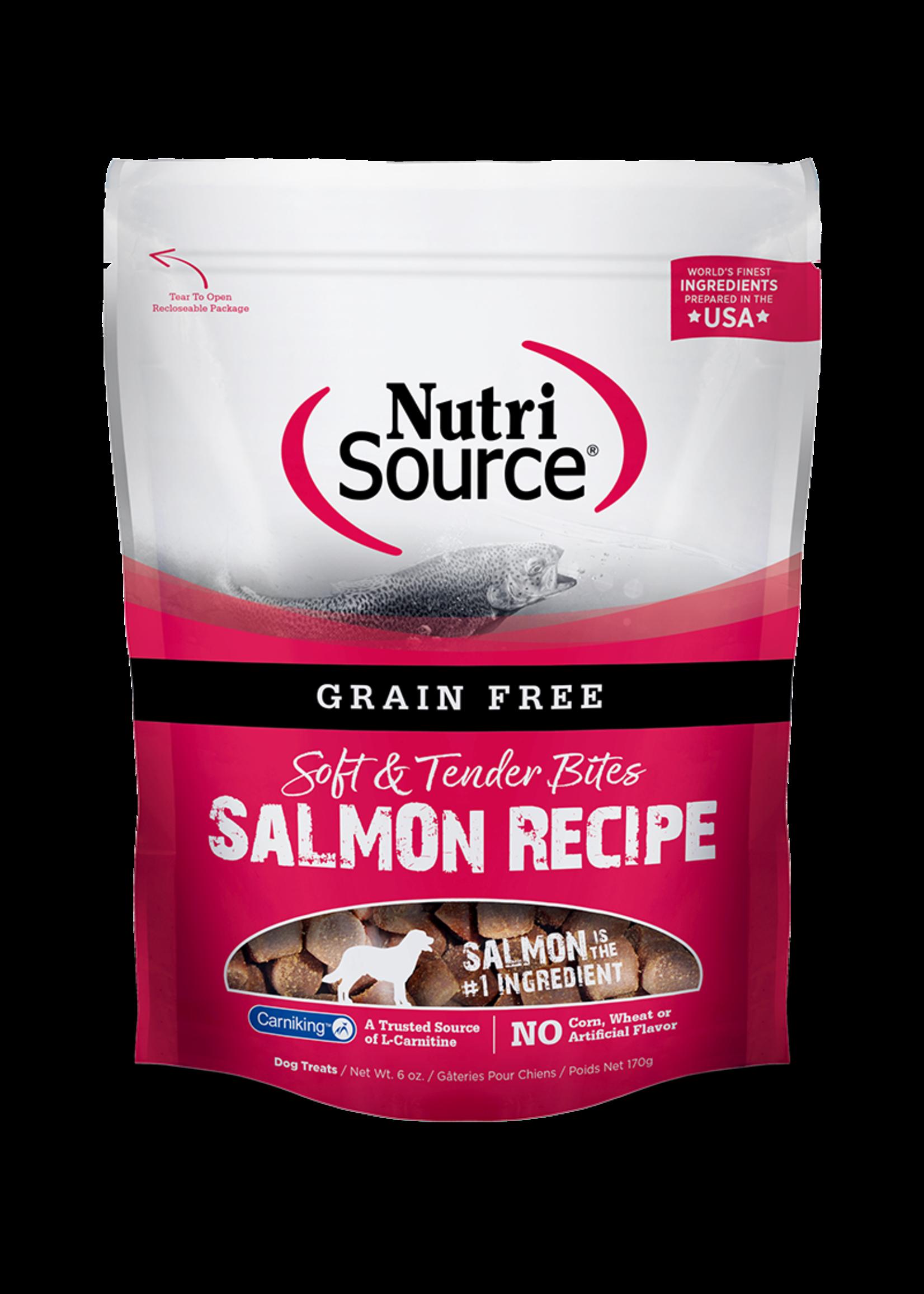 NutriSource NS Gâteries chien sans grain Saumon 6 oz, 179 gr