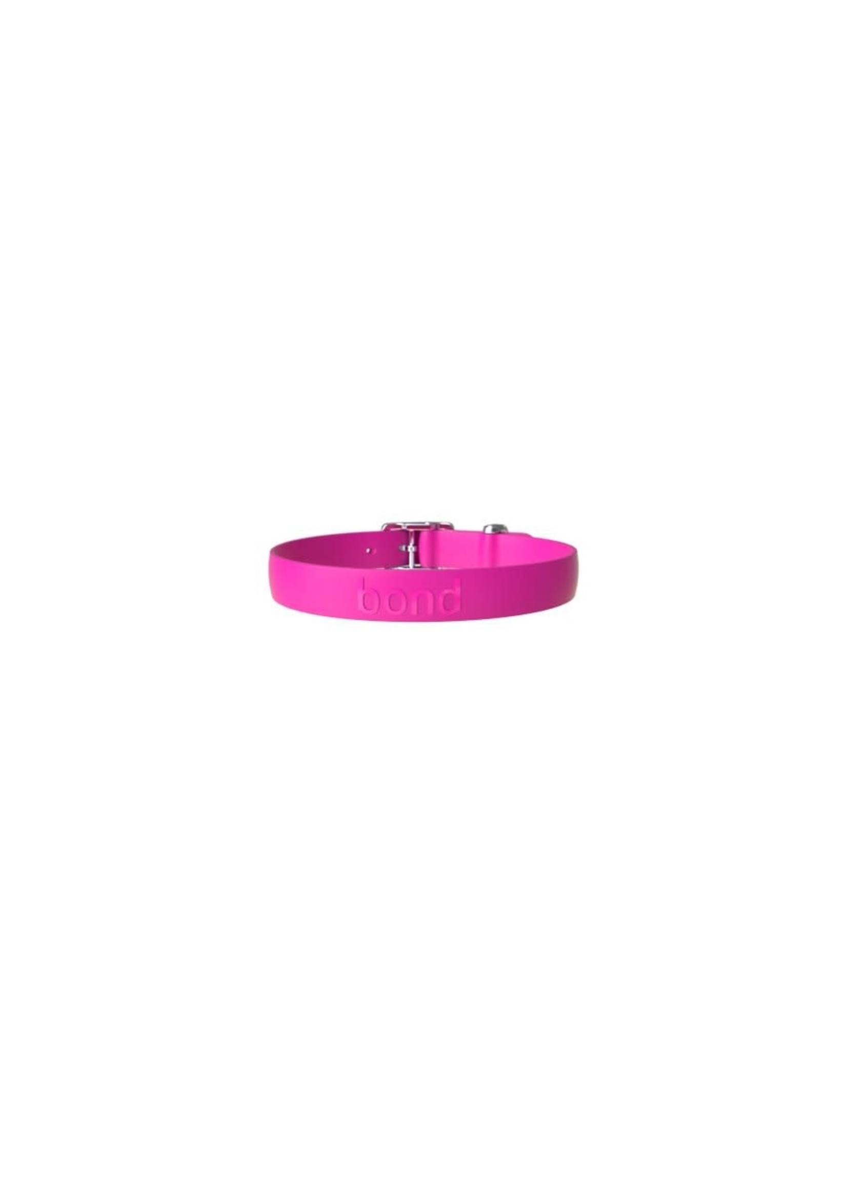 BOND Bond pet chien collier couleur framboise grand