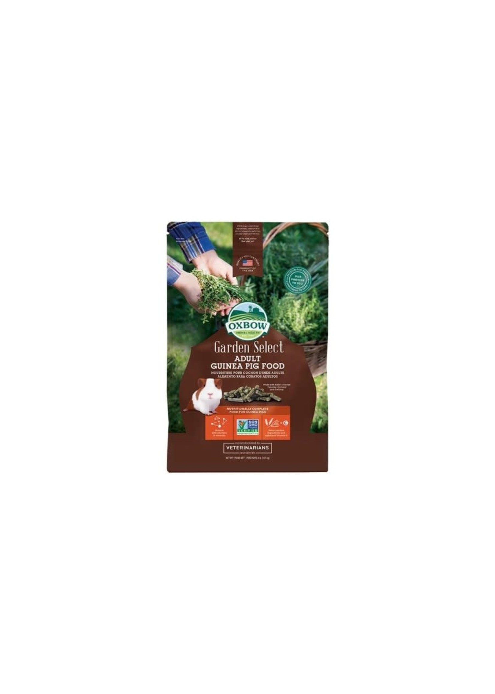 Oxbow Oxbow rongeur garden select cochon d'Inde adulte 8 lbs