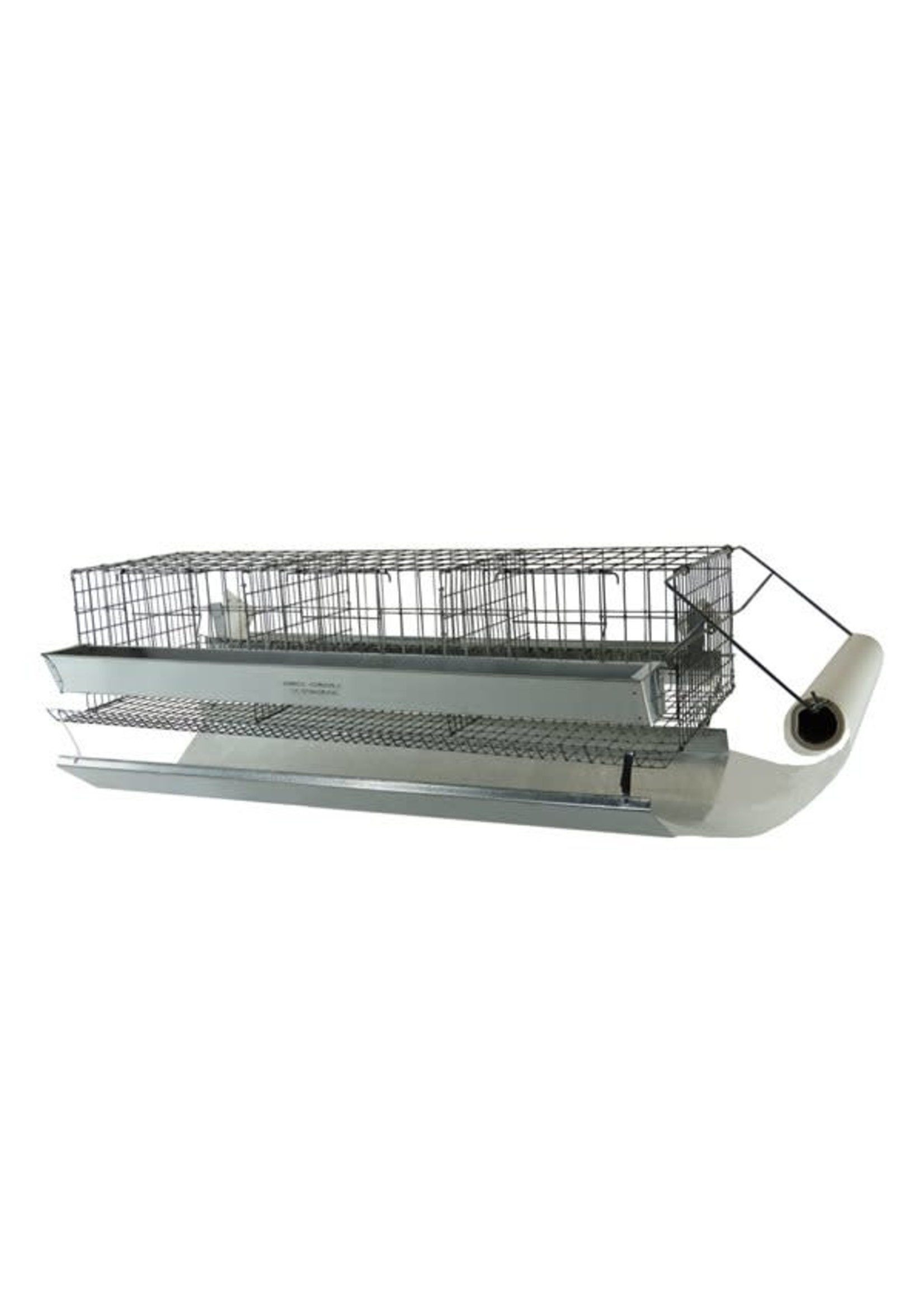 Ranch cunicole 3 Cages a cailles 10 X 9 X 7