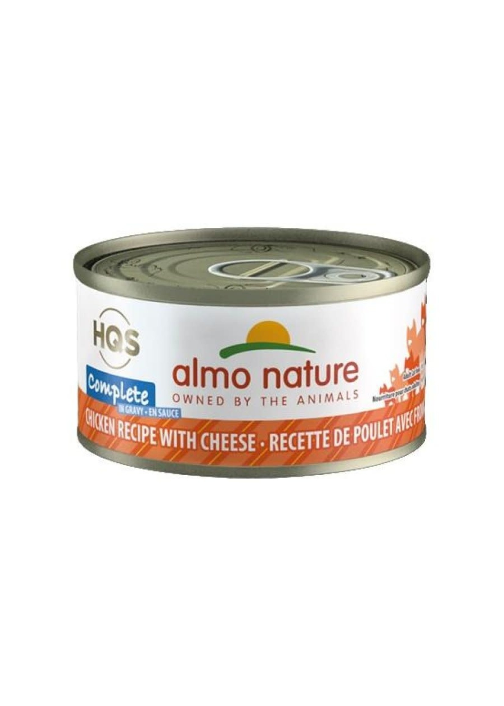 almo nature Almo  Nature HQS  complete chat poulet et fromage en sauce 70 gr