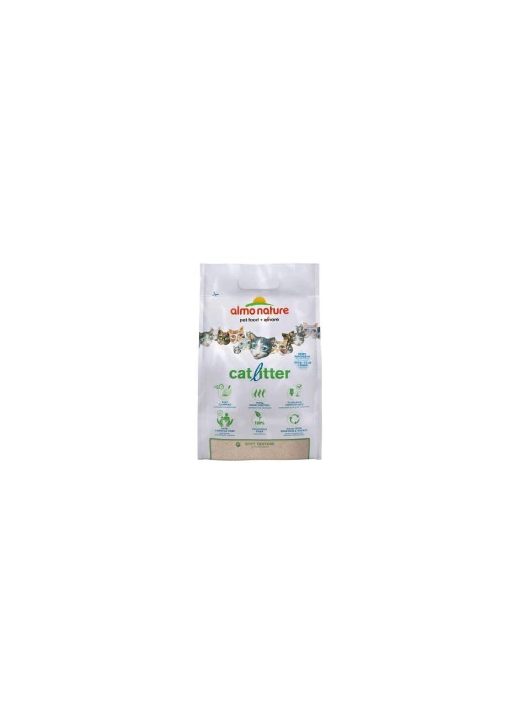 almo nature Almo nature litière agglomérante de fibre végétale, contrôle des odeurs, 10 lb