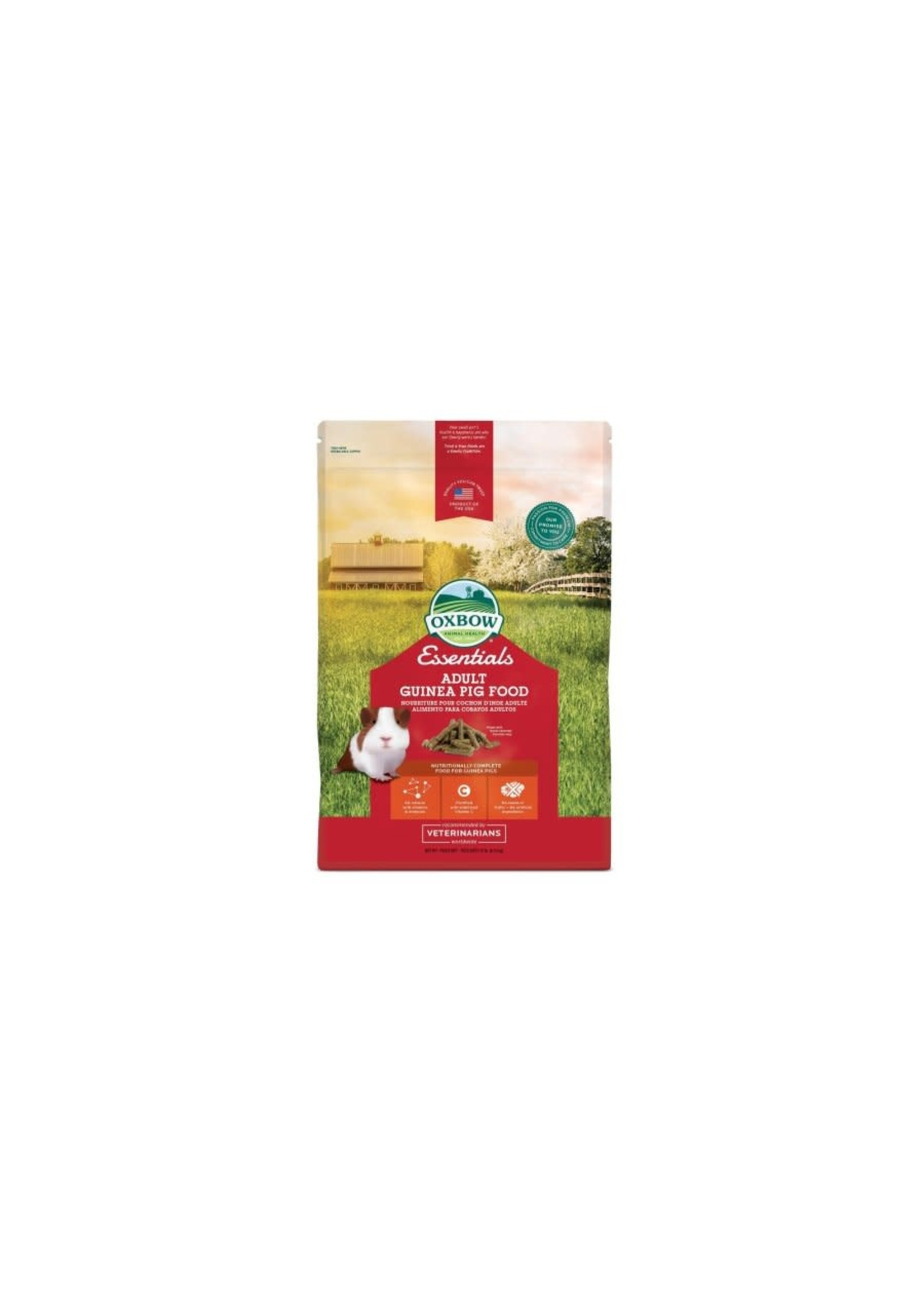 Oxbow Oxbow rongeur nourriture cochon d'Inde adulte 10 lbs