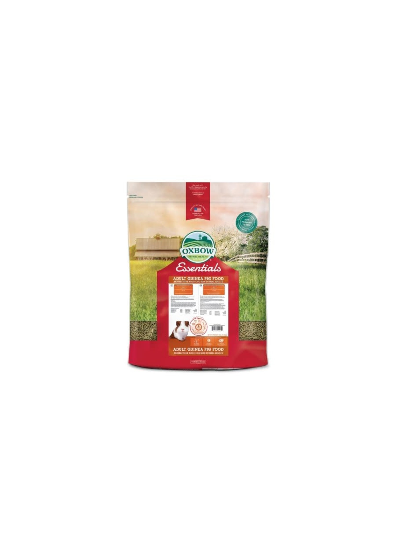 Oxbow Oxbow essentiels - Nourriture pour cochon d'Inde adulte 25 lbs
