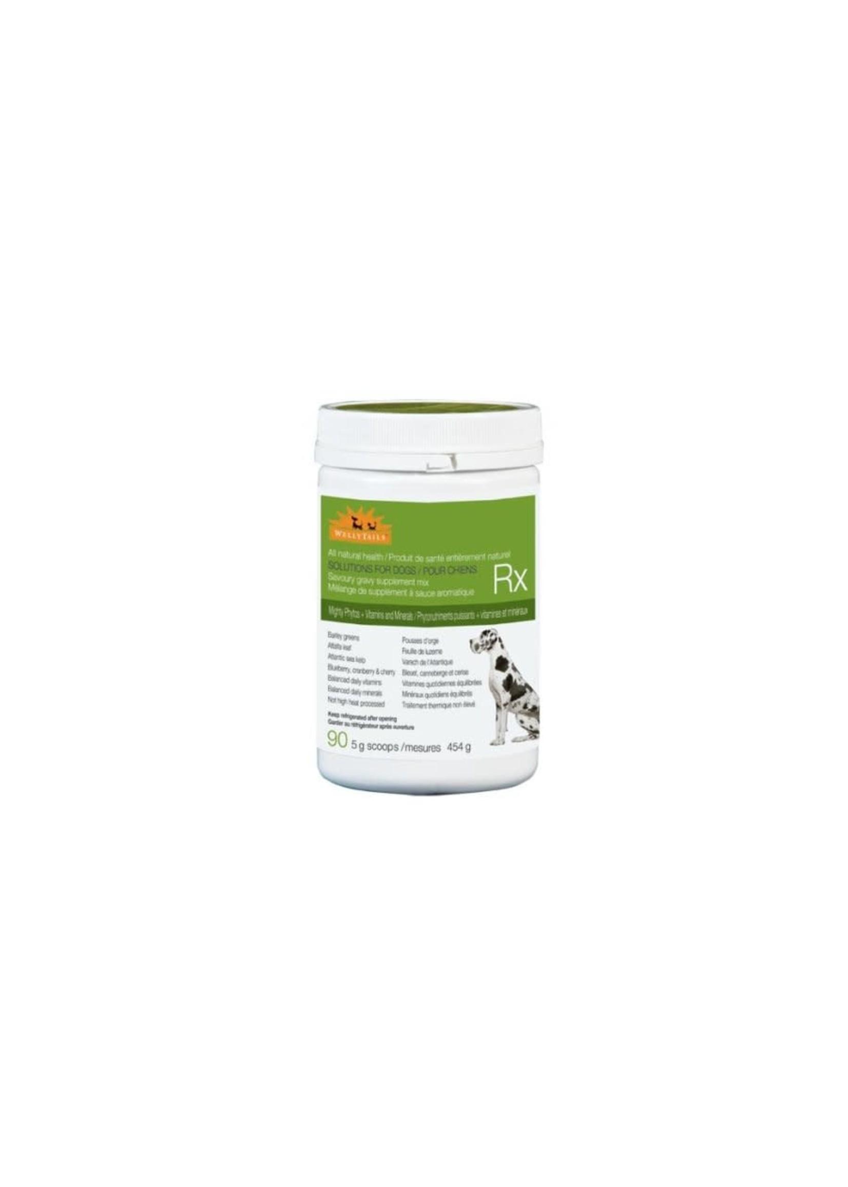 Welly Tails Willy rails chien supplément photo nutriment puissants + vitamines et minéraux  454gr