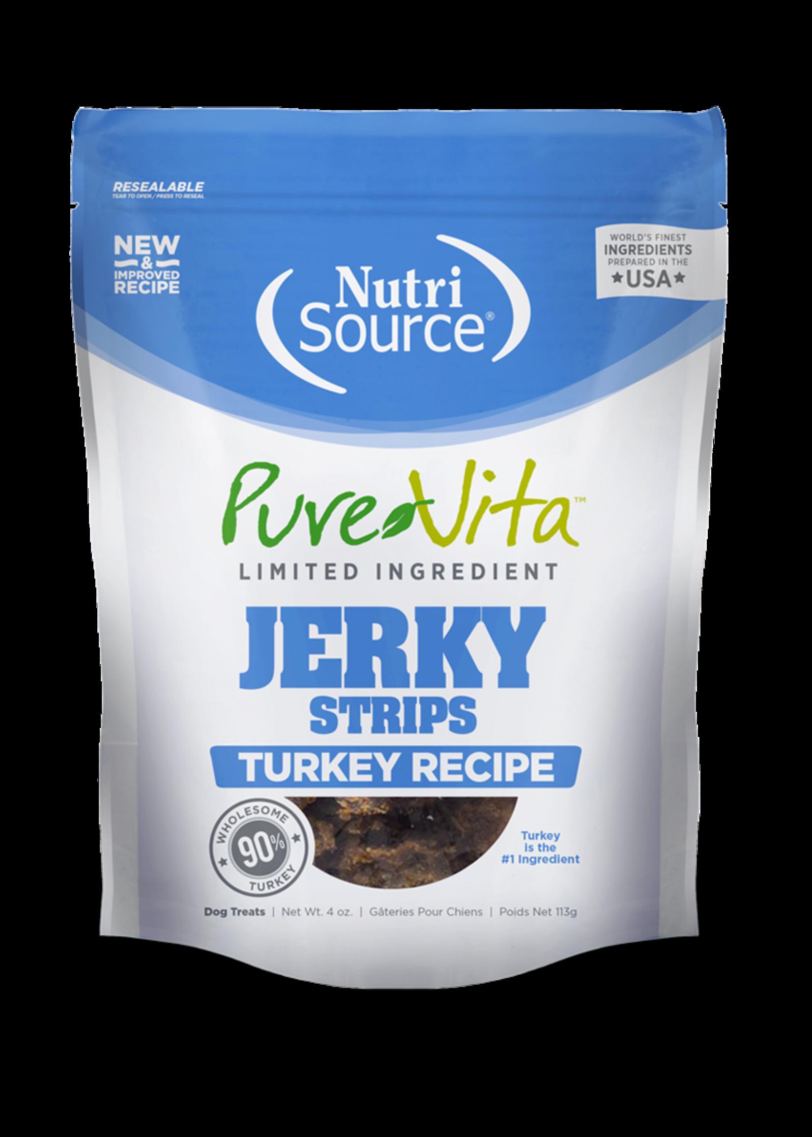 Pure Vita PV dinde Jerky treats 113 g