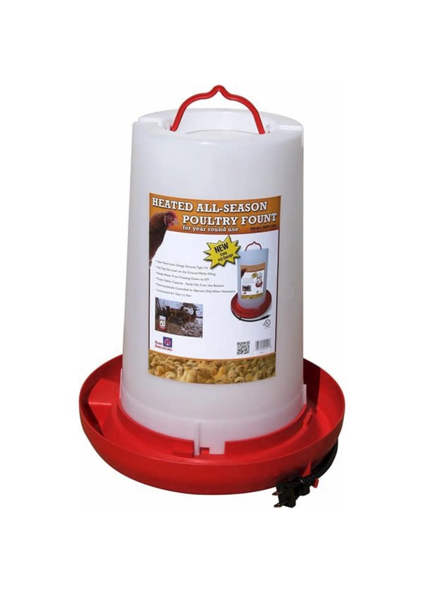 Farm Innovators Abreuvoir chauffant 3 gallons, RC