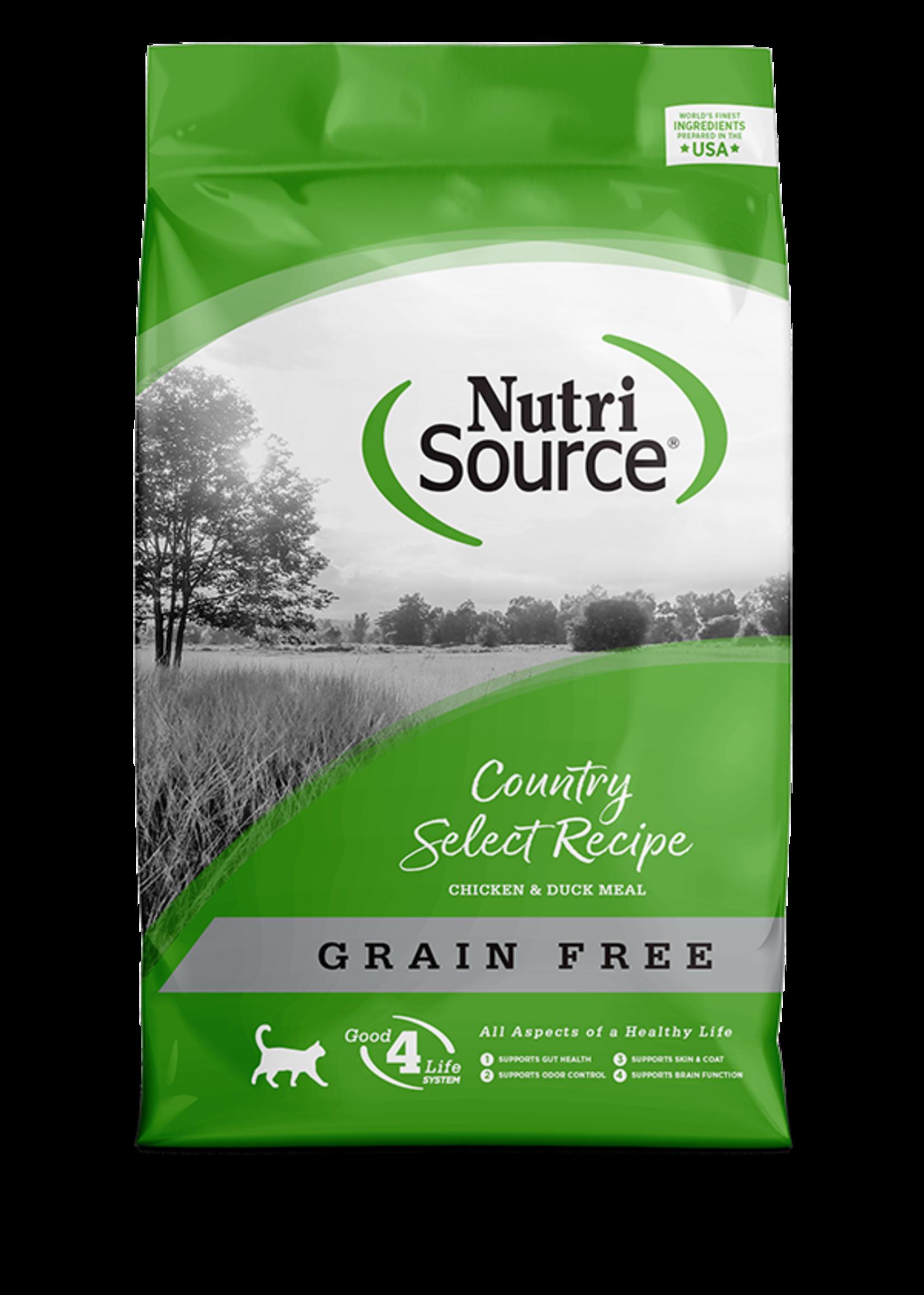 NutriSource Country Select Recipe Sans grains pour chat