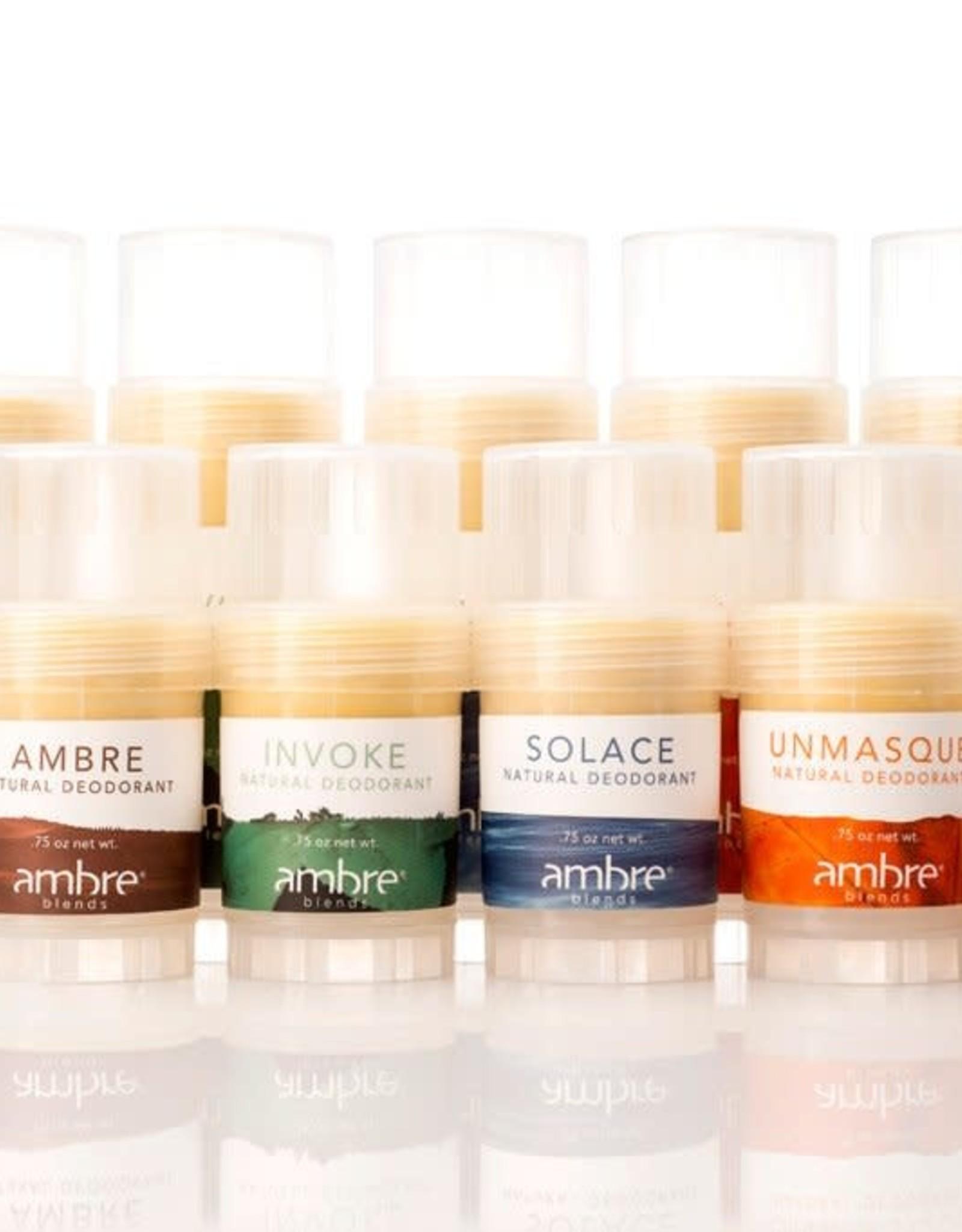 Ambre Blends Ambre 0.75oz Assorted Natural Deodorant