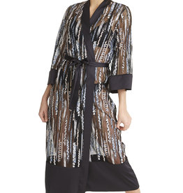 Rya Collection Rya Collection Semi-Sheer Long Robe