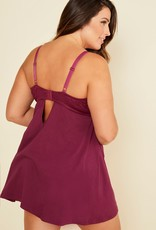 Cosabella Cosabella Dolce Ext 3X Mulberry Babydoll