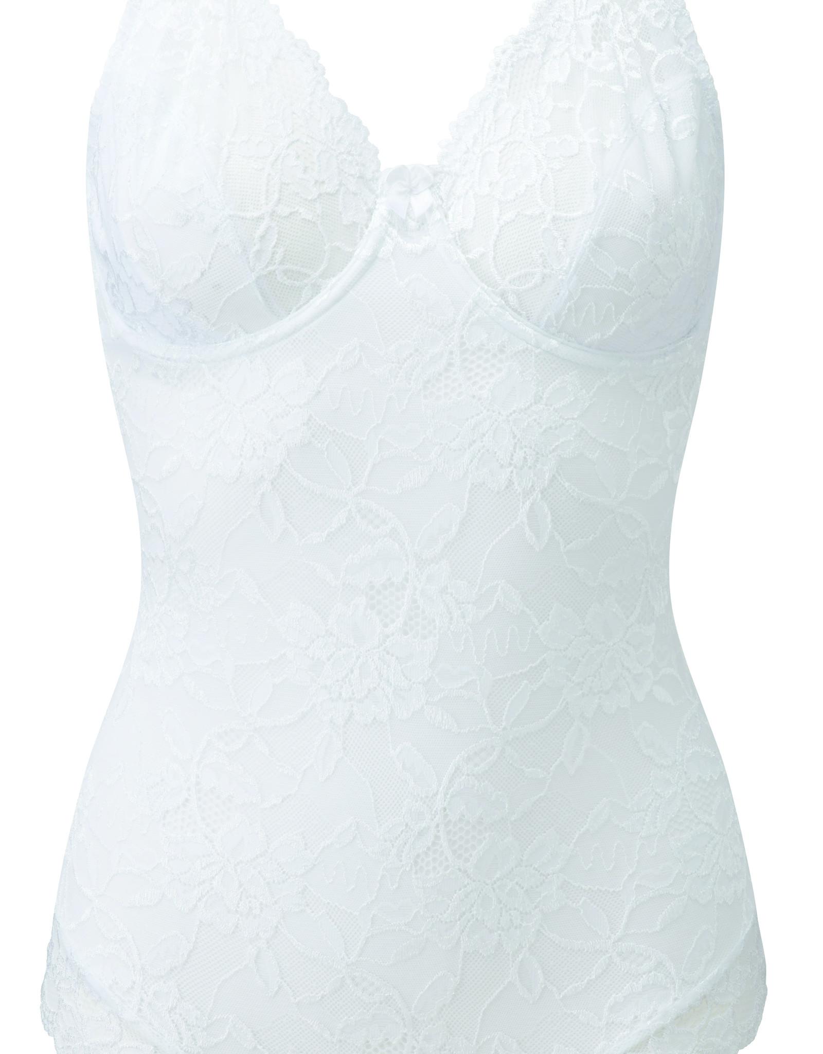 Charnos Rosalind White Bodysuit Sample