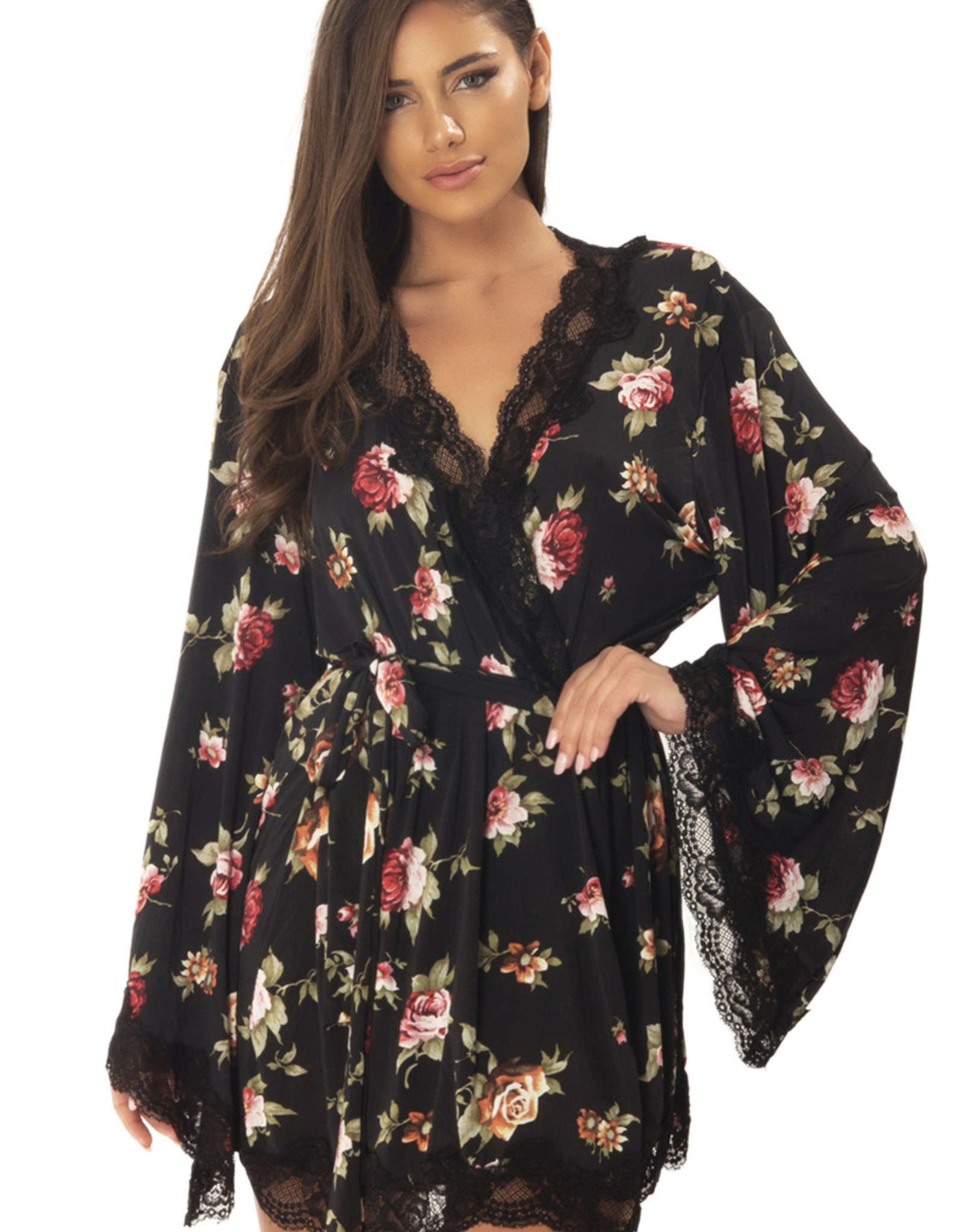 Oh La La Cheri Oh La La Cheri Floral Robe