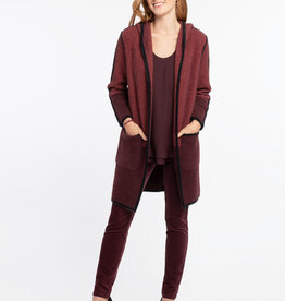 Nic+Zoe Lodge Hooded Cardigan/Coat