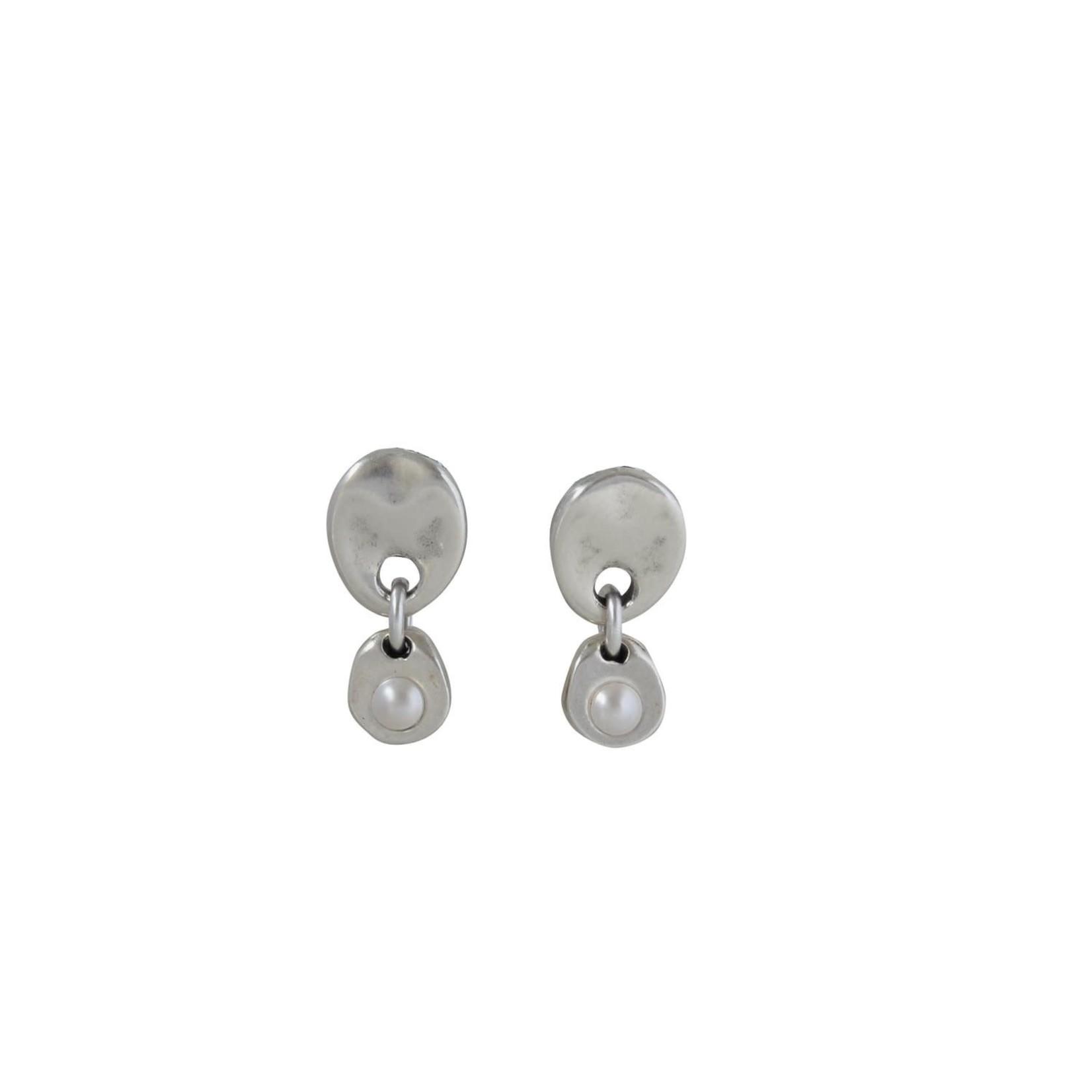 Earring/Amira/Pearl Post Drop