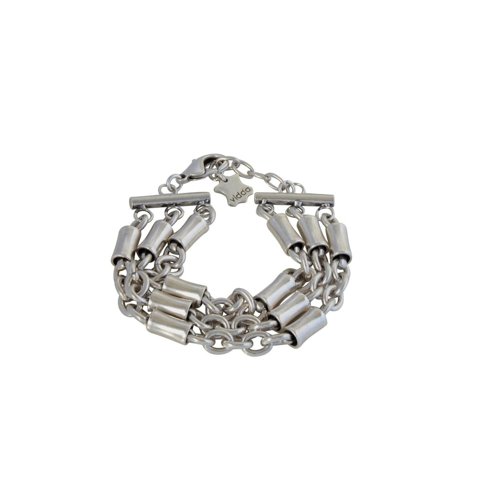 Bracelet/Catwalk/3Strands/SilvChain