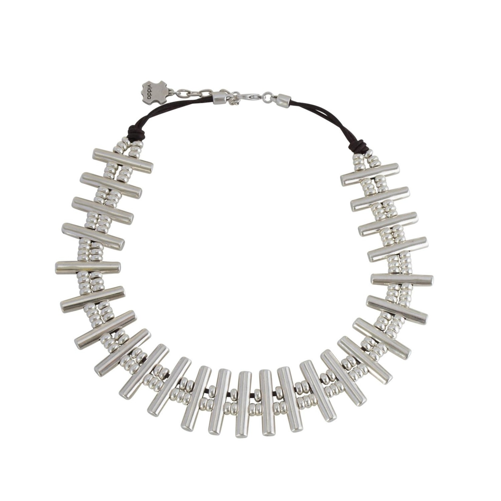 Necklace/Mataram/Silver Bars/Short