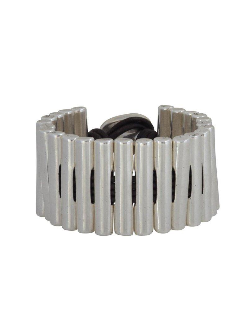 Bracelet/Pala/SilverConnectedBars