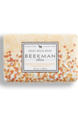 Honey & Orange Blossom 9 oz Bar Goats Milk Soap