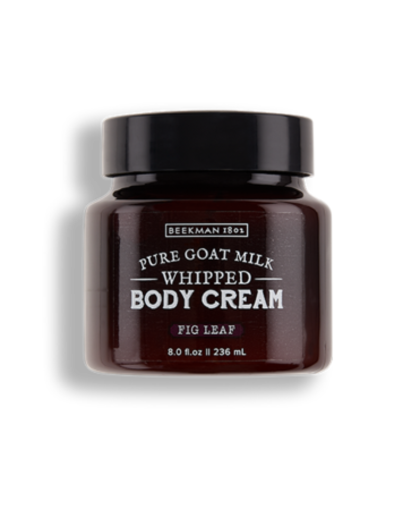 Fig Leaf 8 oz Goats Milk Body Cream