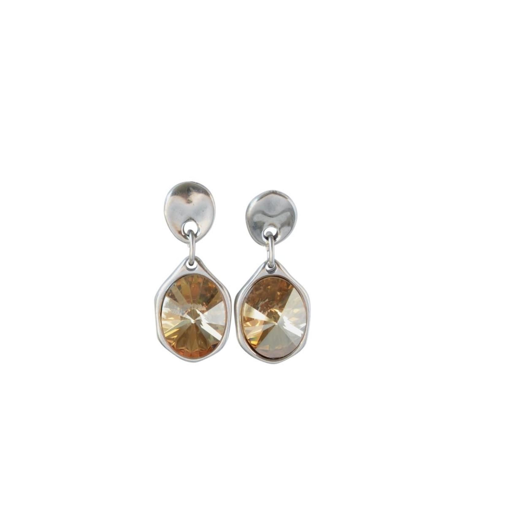 Earrings/Moonbeam Swarovski Crystal Drops