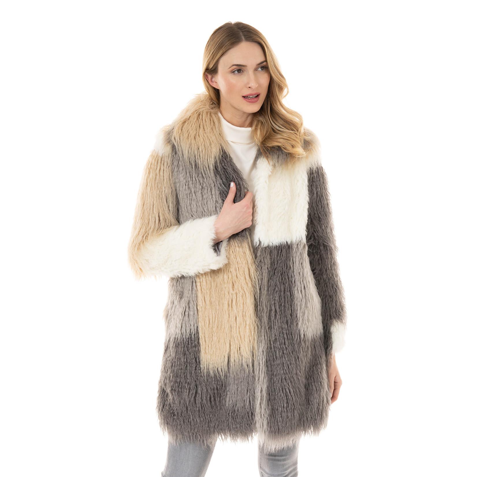 Fabulous Furs Stella Stroller Faux Fur Jacket