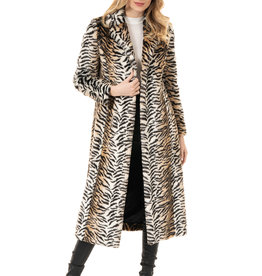 Coat/BackstageMaxiFauxFurTiger
