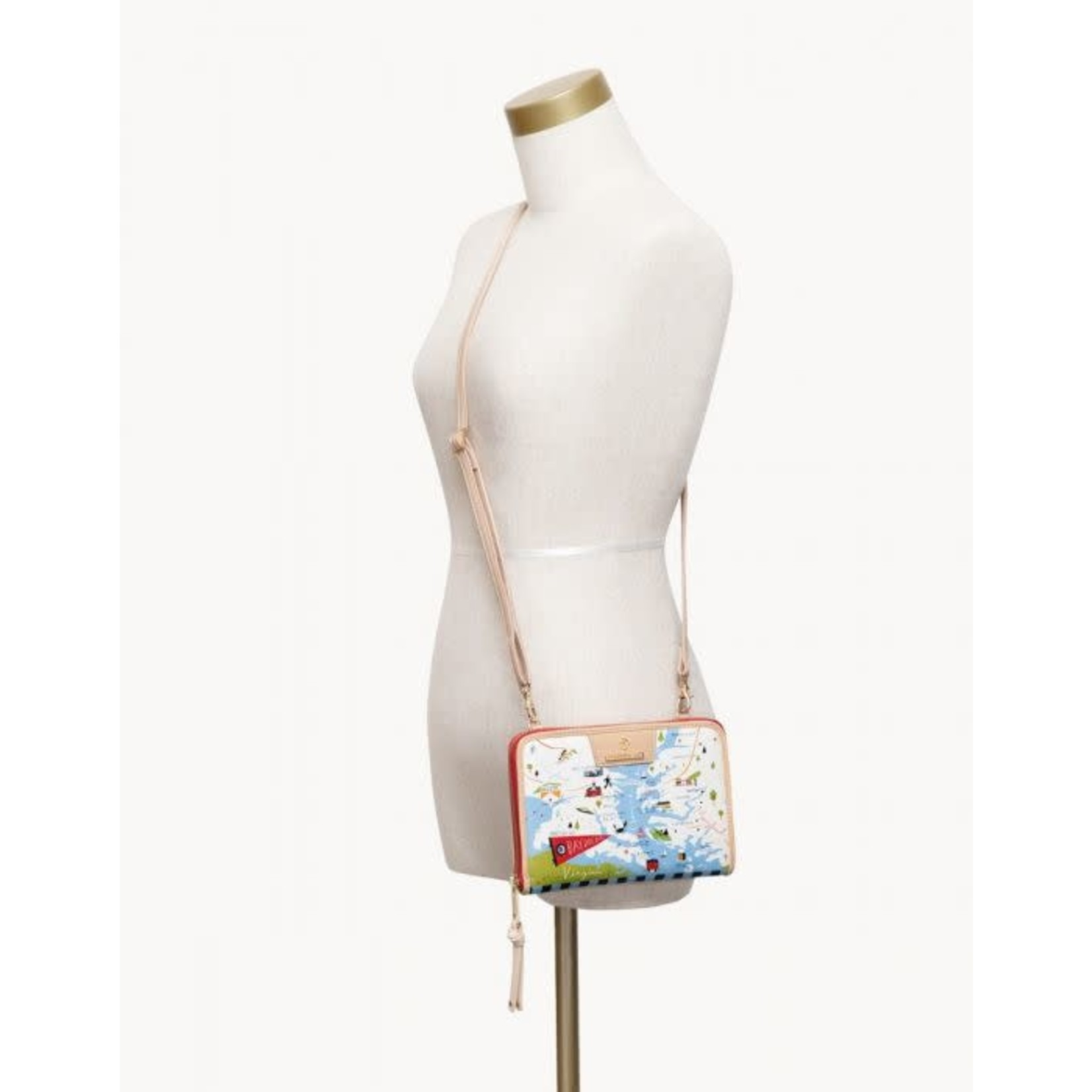 Spartina Bay Dreams All-in-One Phone Crossbody
