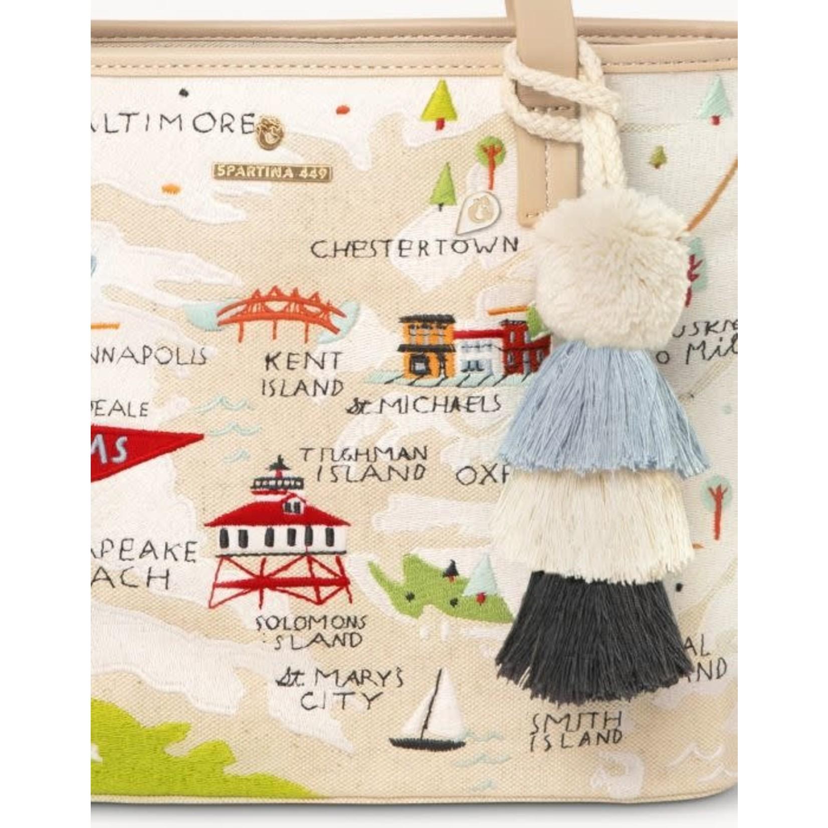 Spartina Tote/Bay Dreams Embroidered