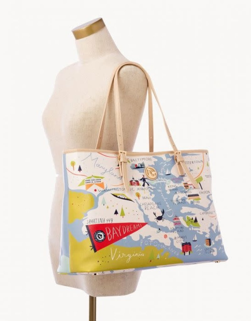 Spartina Bay Dreams Tote Large