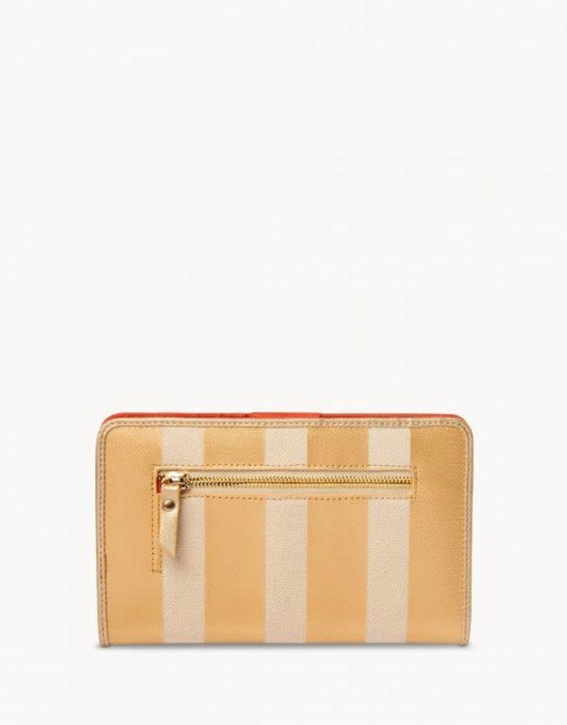 Spartina 74019 Wallet/Flamingo Stripe Snap
