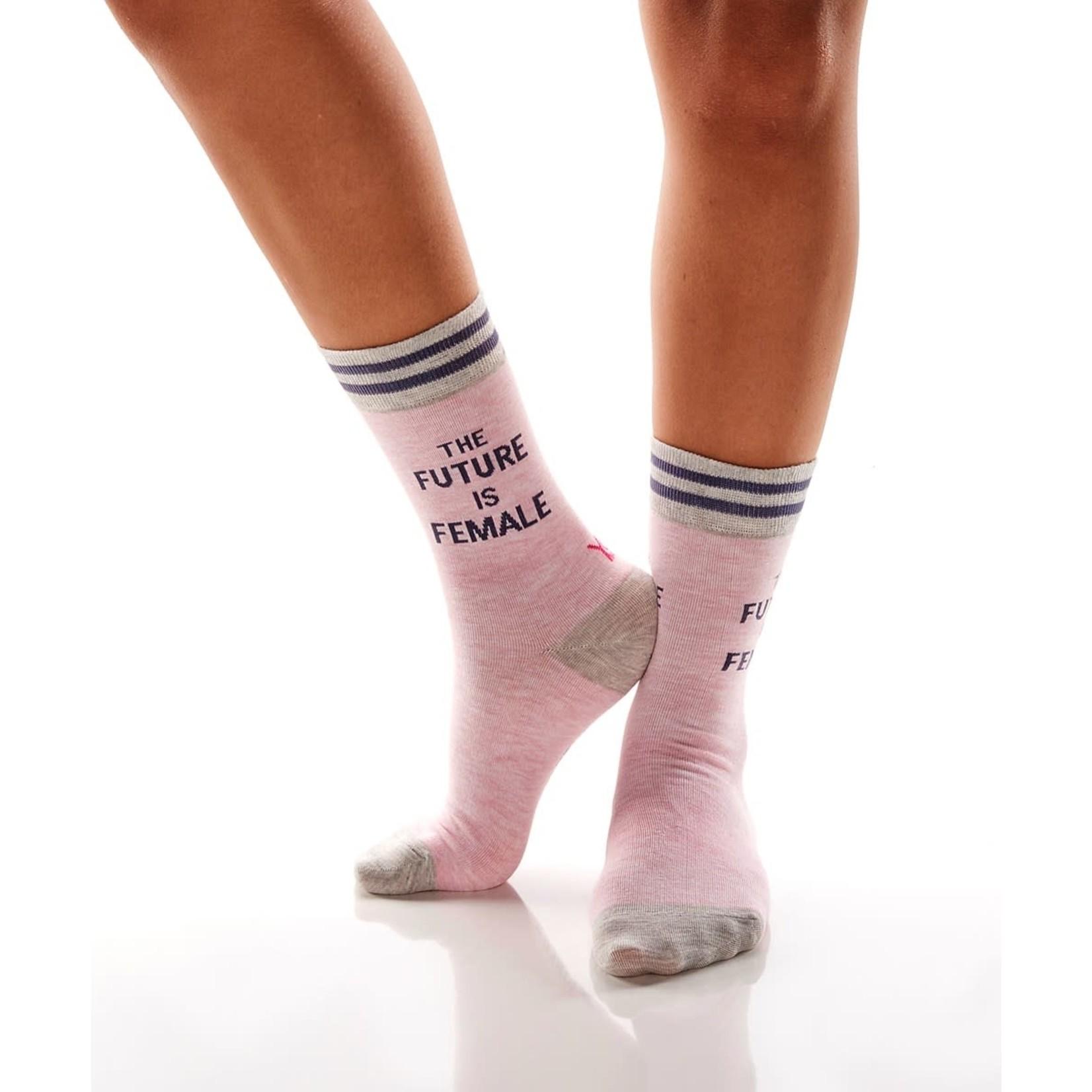 The Future Is Female Women's Crew Socks
