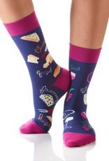 Wine and Cheese Women's Crew Socks