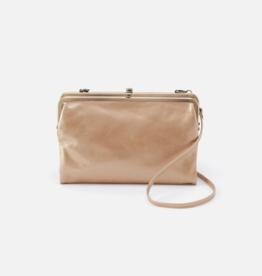 HOBO Leanne Gold Dust Leather Clutch/Crossbody