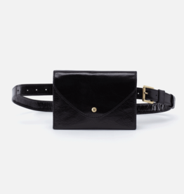 HOBO Forte Black Vintage Hide Leather Crossbody/FannyPk