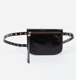HOBO Saunter Black Vintage Hide Leather FannyPack
