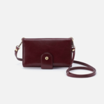 HOBO Apollo Deep Plum Vintage Leather Crossbody/Wallet