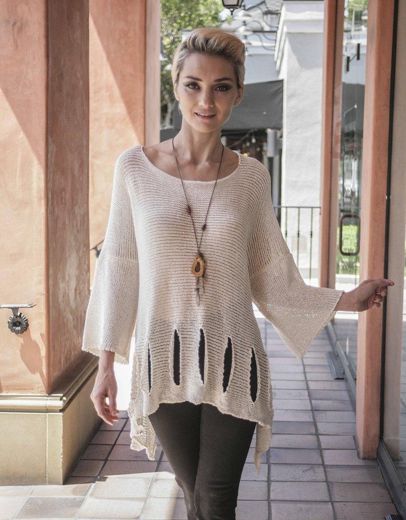 Sweater/Holey Bottom Fine Gauge O/S