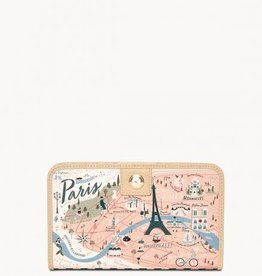 Spartina Paris Snap Wallet