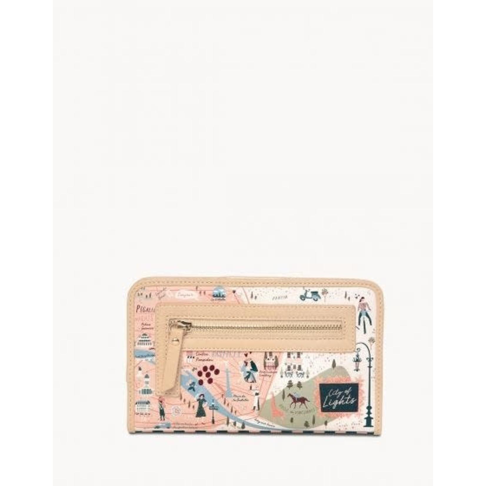 Spartina Paris Snap Wallet