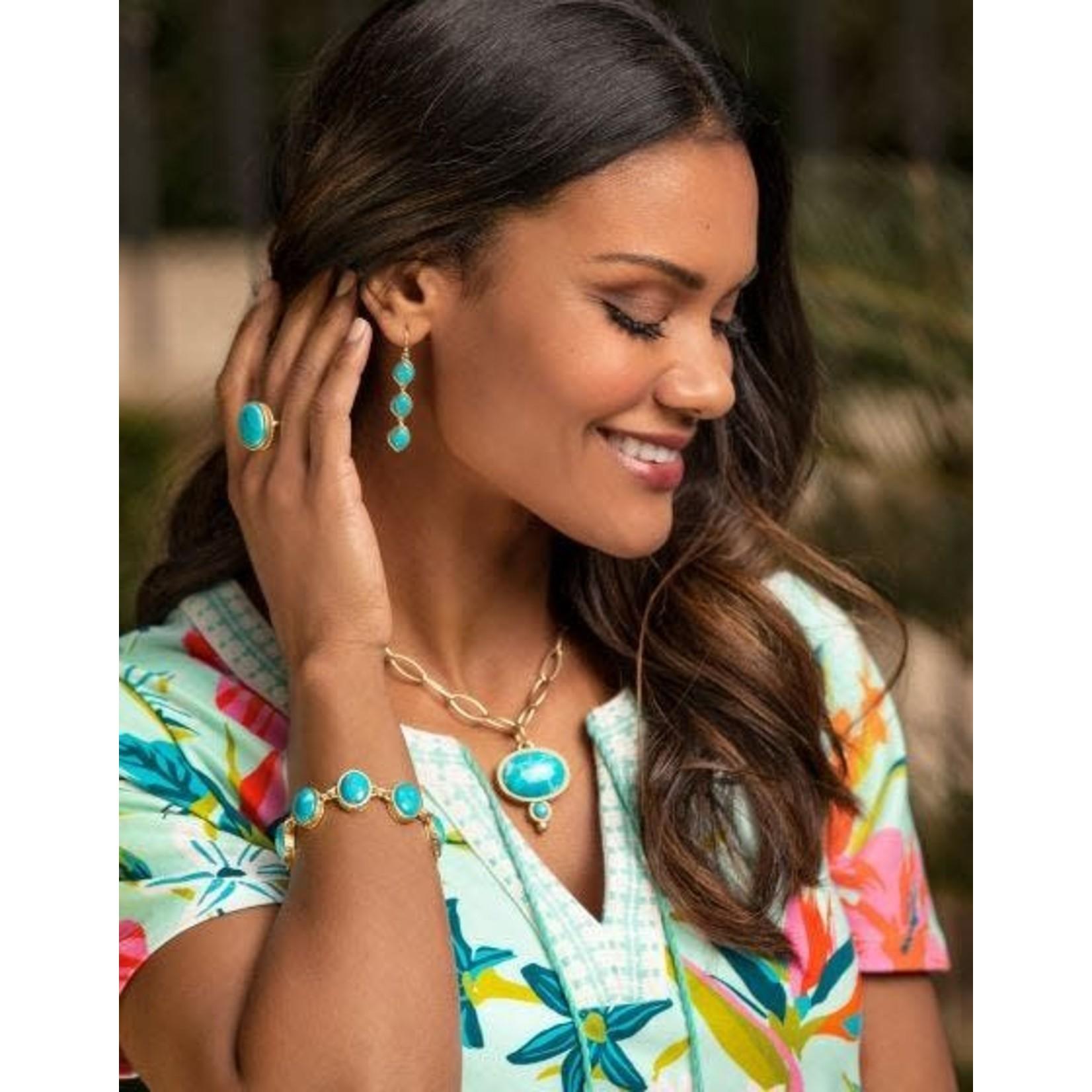 Spartina Nala Linear Drop Earrings