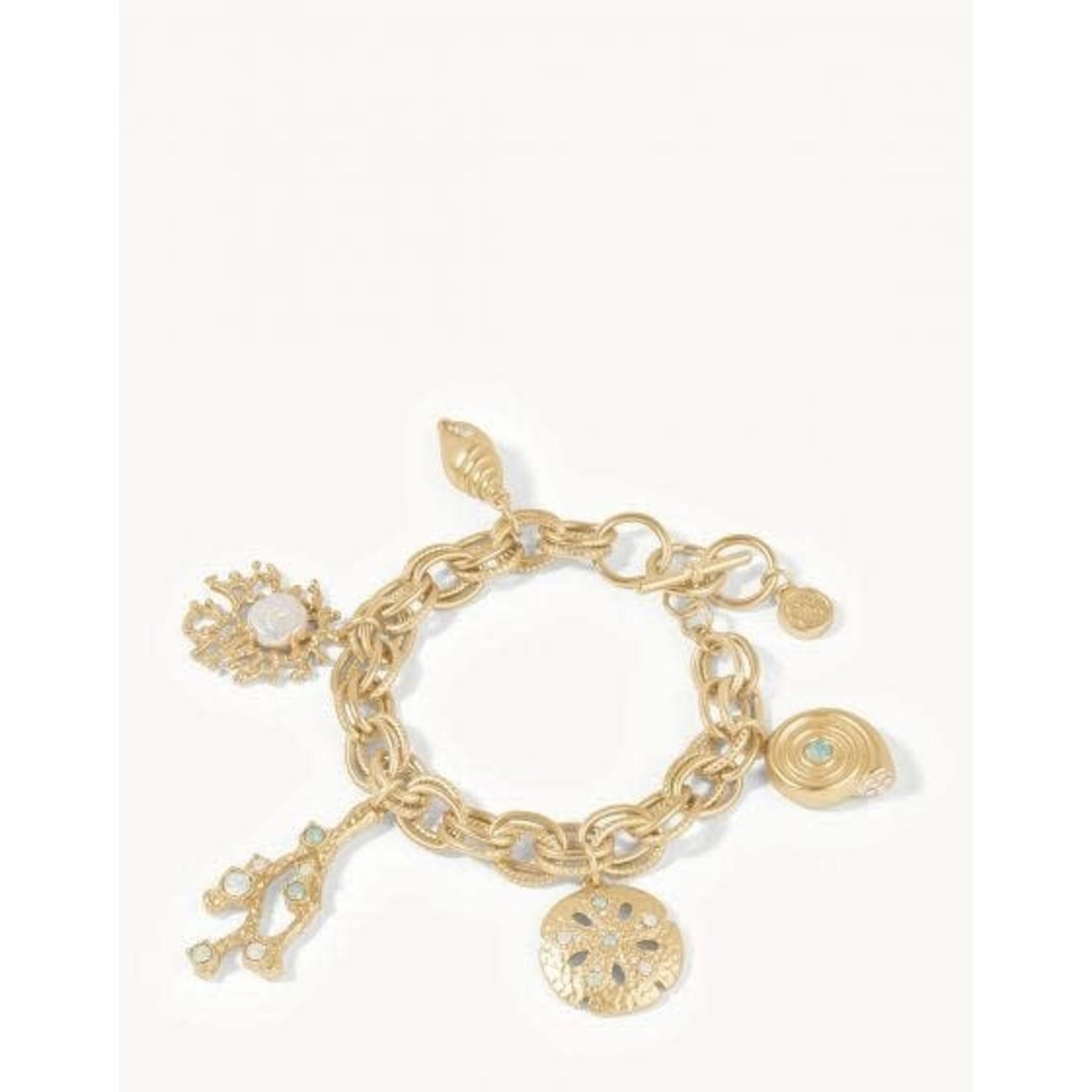 Spartina Sea Treasures Gold Toggle Bracelet