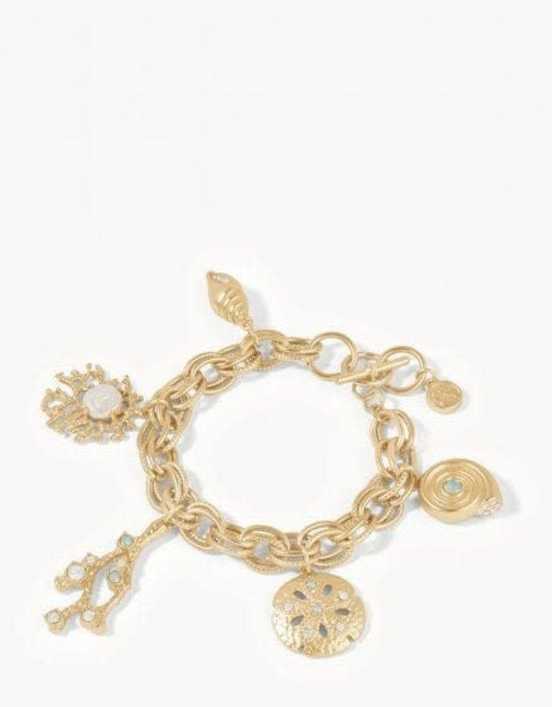 Spartina Bracelet/Sea Treasures Toggle/Gold