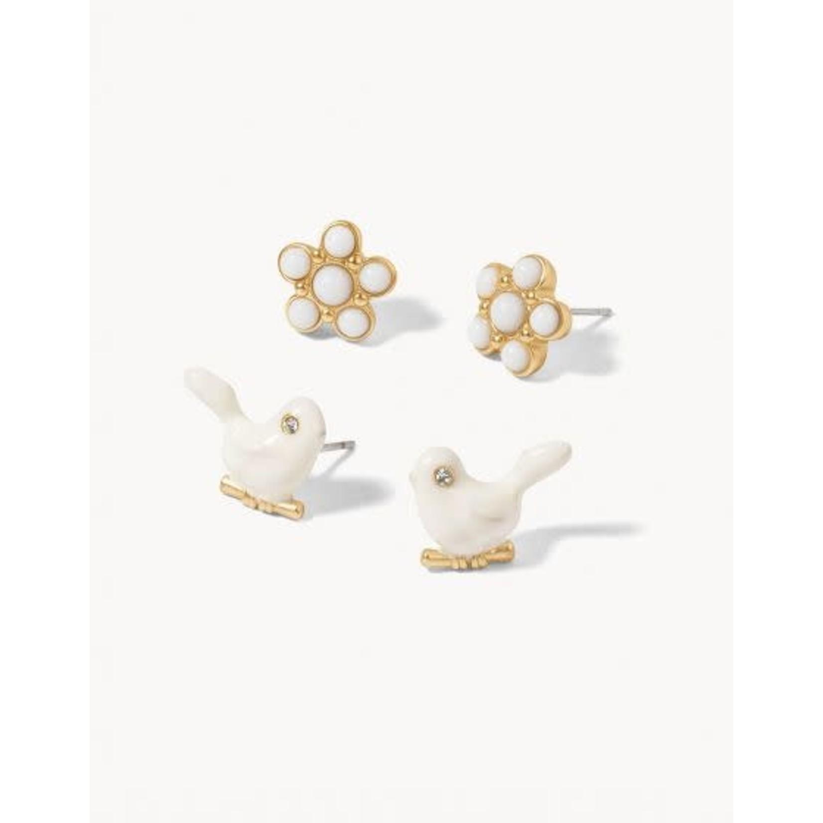 Spartina Songbird Stud Earring Set
