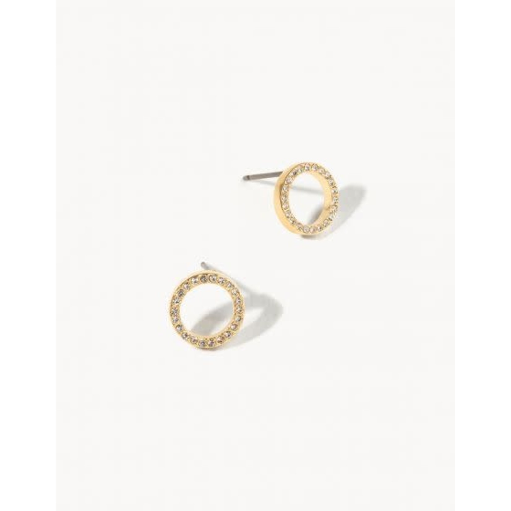 Spartina Earrings/Eternity Stud/Crystal