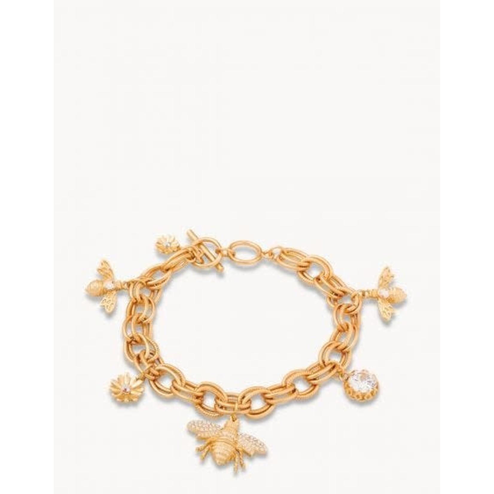 Spartina Bracelet/Bee Toggle