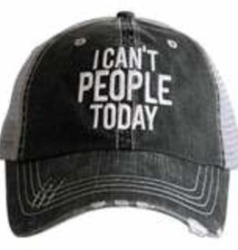 I Can't People Today Truckers Cap