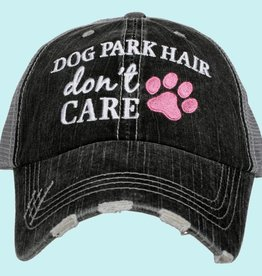 Dog Park Hair Don't Care Truckers Cap