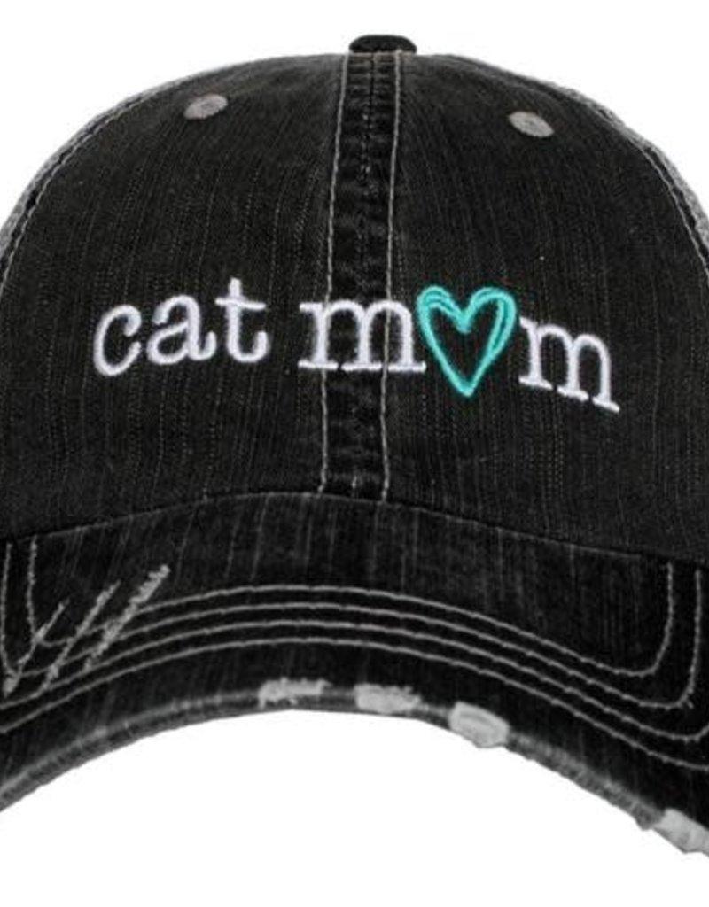 Cat Mom Truckers Cap