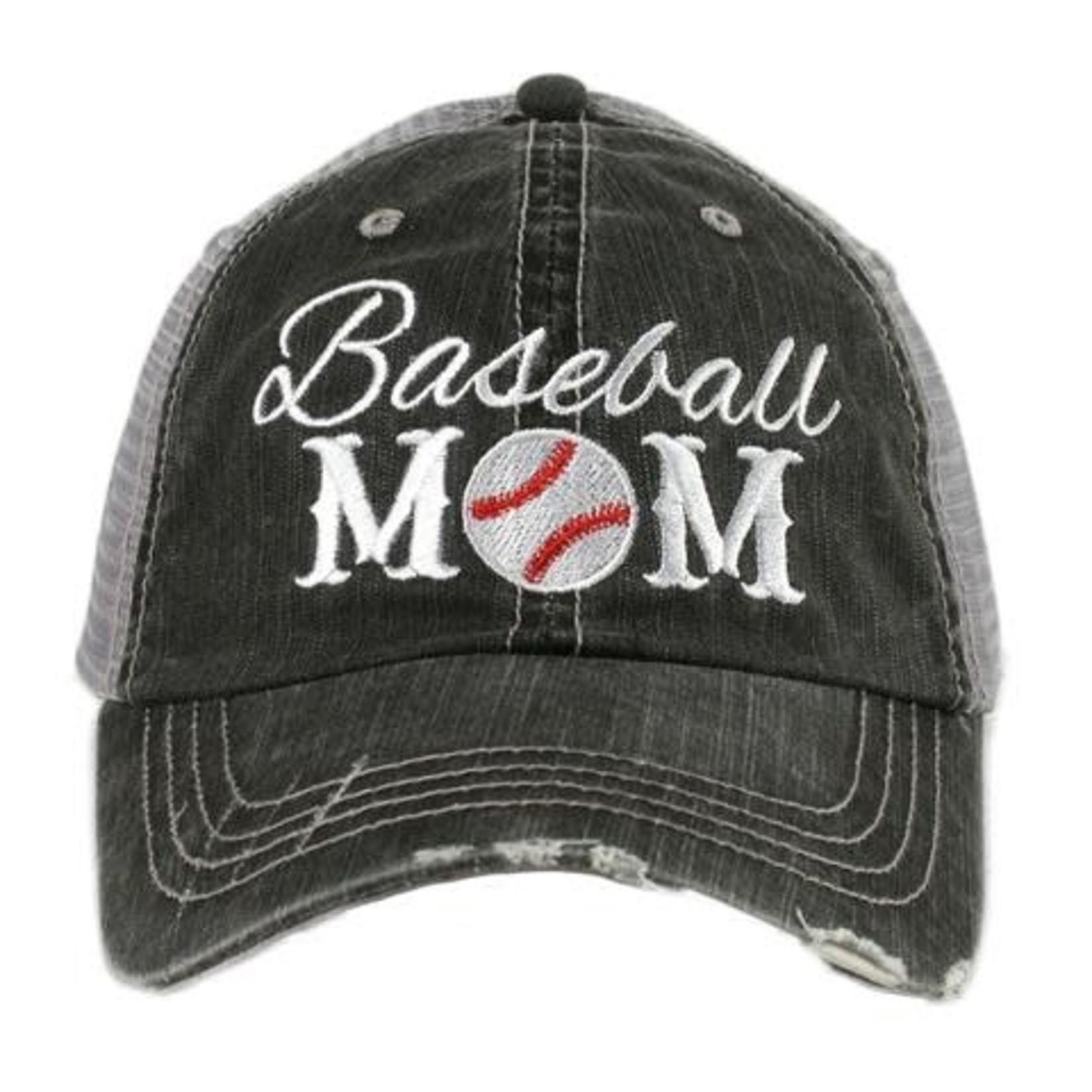 Baseball Mom Truckers Cap